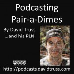 """Podcasting Pair a Dimes Cover Art"""